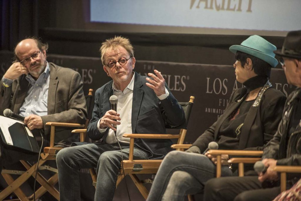 SHOF Panel with Jon Burlingame, Paul Williams, and Diane Warren