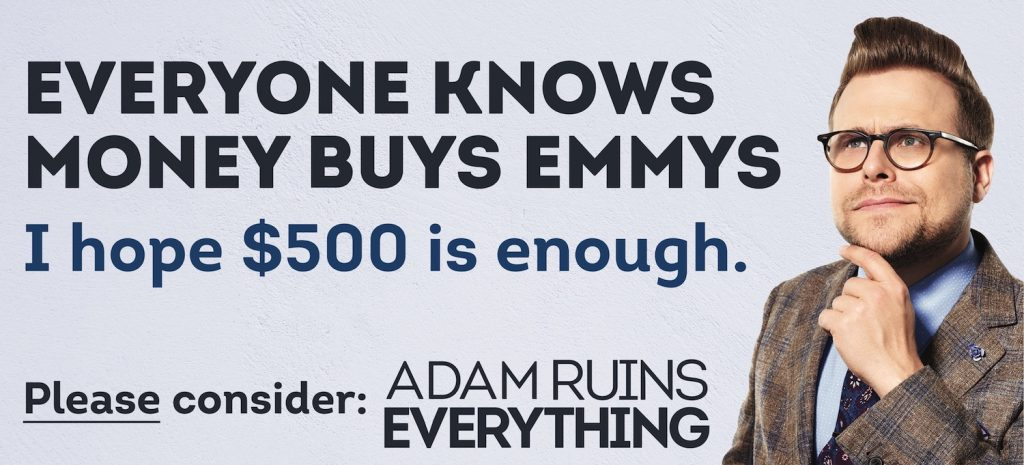 Sample Adam Ruins Everything Emmy Ad