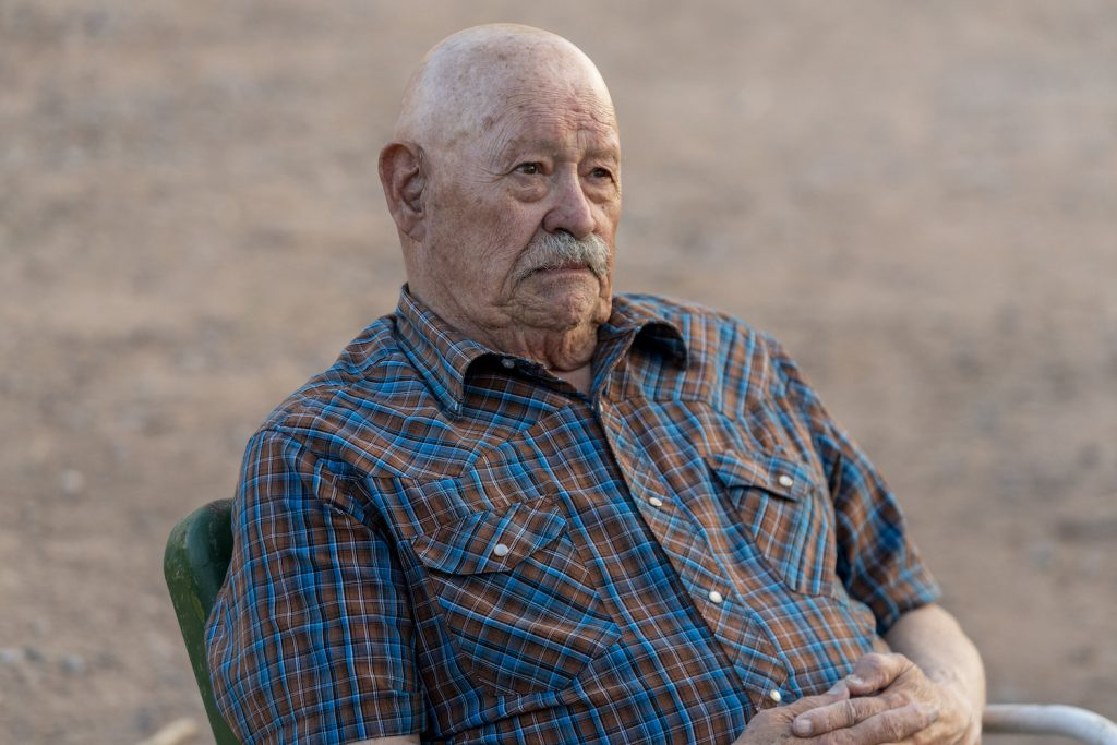 "Barry Corbin as Mr. Acker in ""Better Call Saul"""