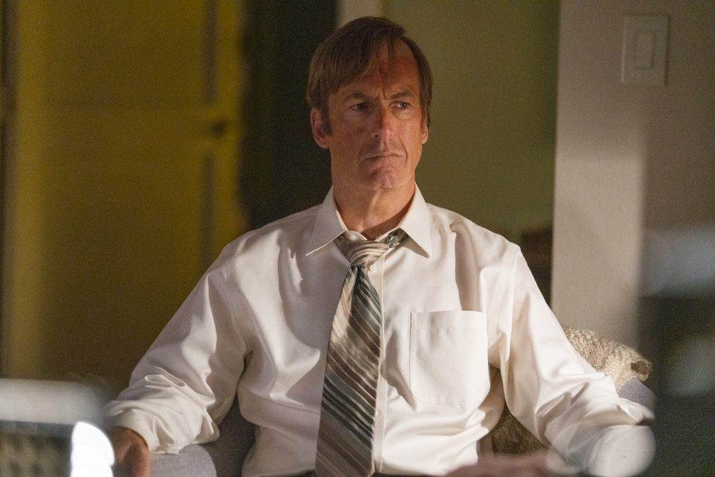 "Bob Odenkirk as Jimmy McGill in ""Better Call Saul"""