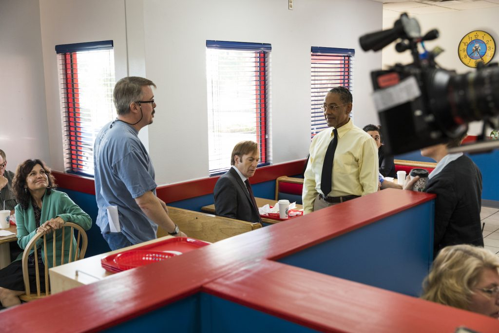 "Behind-the-Scenes with Executive Producer Vince Gilligan, Giancarlo Esposito as Gustavo ""Gus"" Fring in BETTER CALL SAUL"