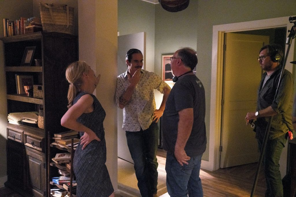 "Behind-the-scenes with Rhea Seehorn as Kim Wexler, Tony Dalton as Lalo Salamanca, Director Tom Schnauz on ""Better Call Saul"""
