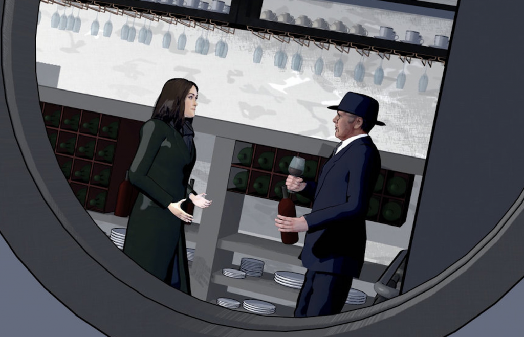 THE BLACKLIST Animated