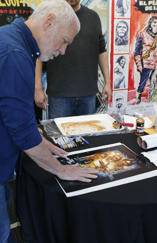 Star Wars poster signed by Drew Struzman