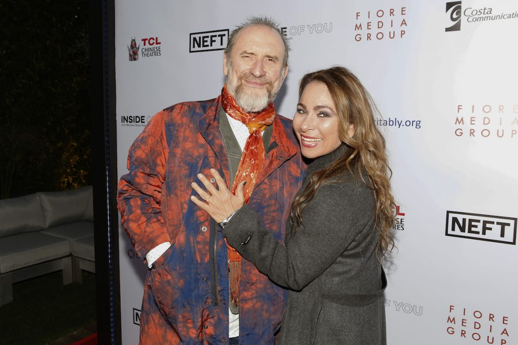 Musician Colin Hay of 'Men at Work' at the Aiding Australia Charity Event. (Photo by: David Yeh)