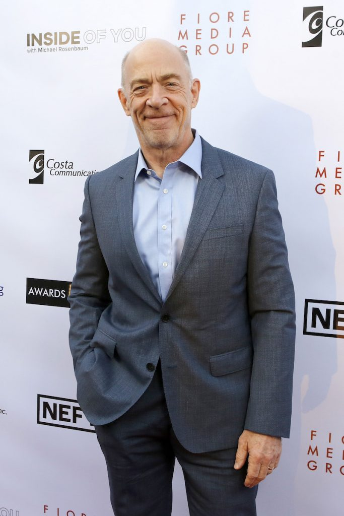 JK Simmons at the Aiding Australia Charity Event. (Photo by: David Yeh)