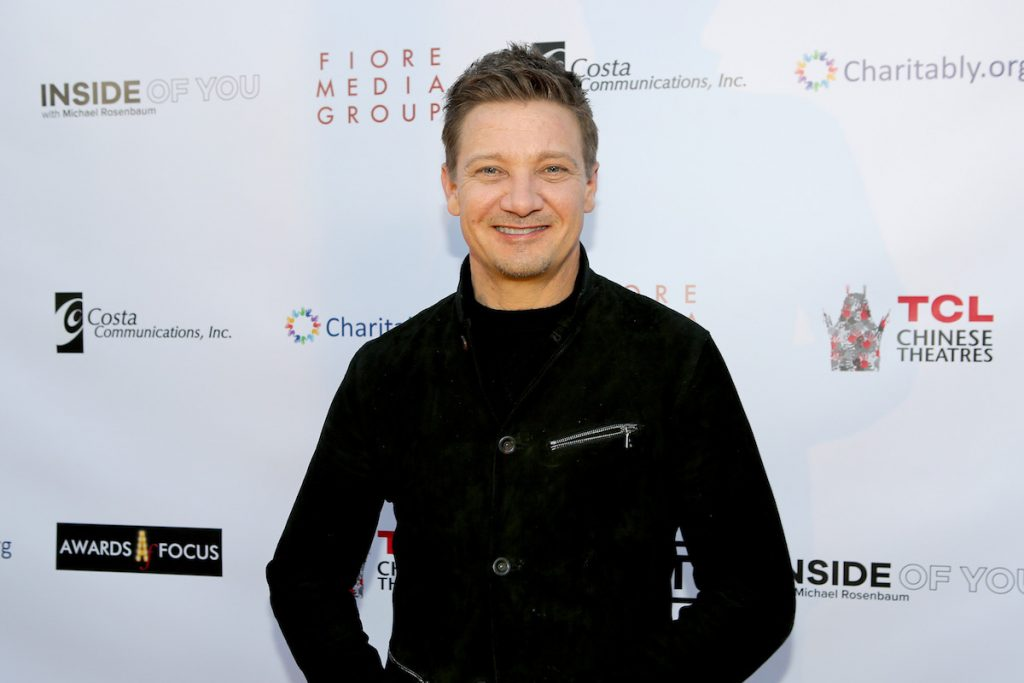 Jeremy Renner at the Aiding Australia Charity Event. (Photo by: David Yeh)