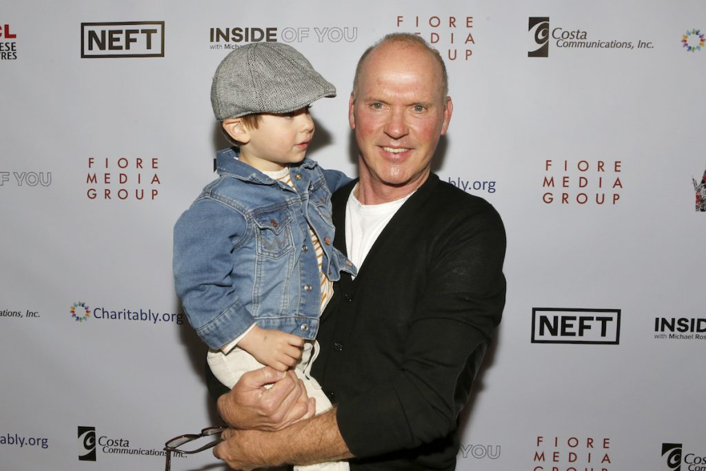 Michael Keaton at the Aiding Australia Benefit. (Photo by: David Yeh)