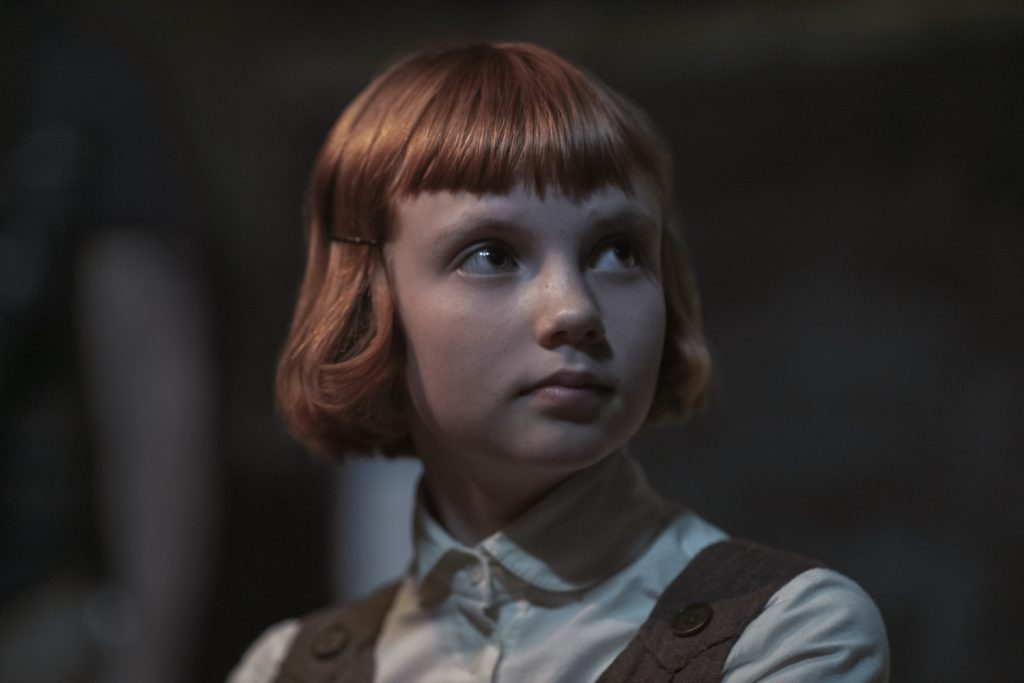 Isla Johnston as Beth (Orphanage) in THE QUEEN'S GAMBIT