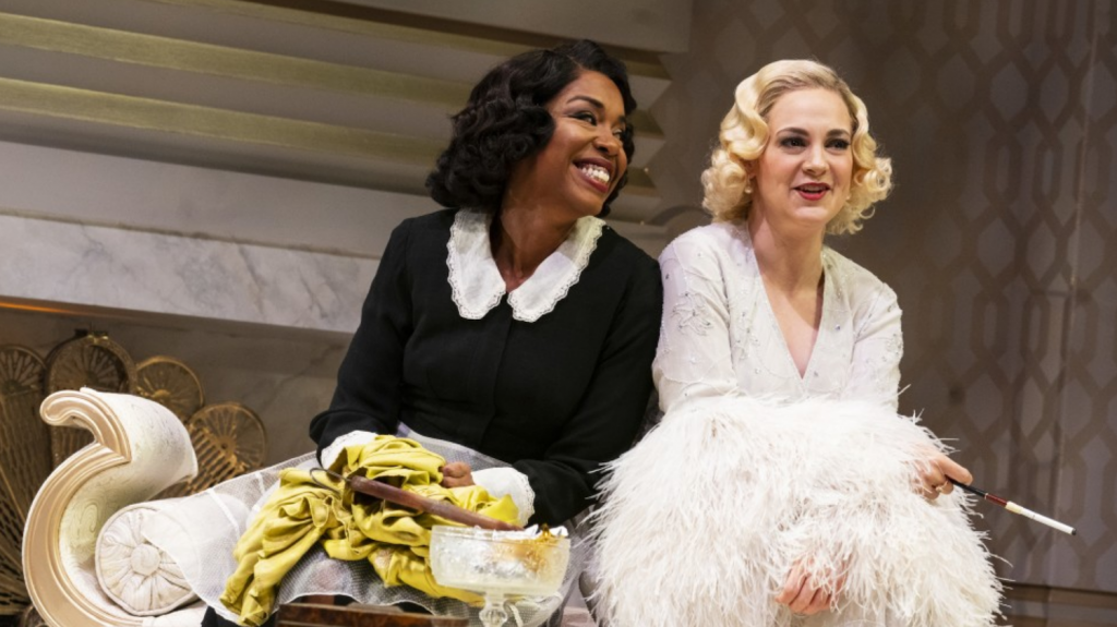 Jessica Frances Dukes and Jenni Barber in BY THE WAY, MEET VERA STARK  (Photo Credit  Joan Marcus)