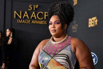 Lizzo at the NAACP Awards 2020