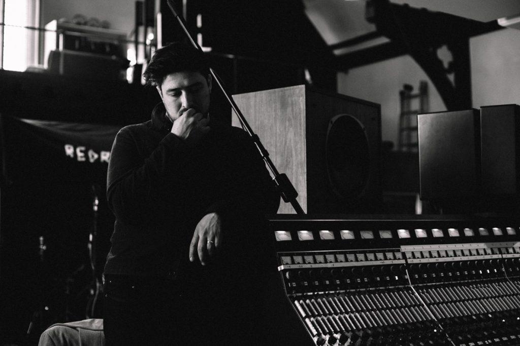 Composer Marcus Mumford