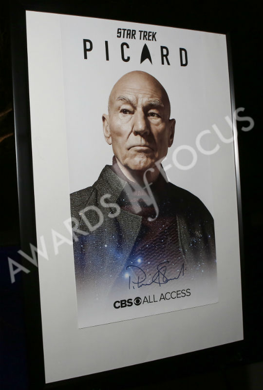 'Star Trek: Picard' poster signed by Patrick Stewart